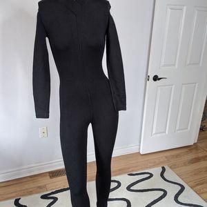Alaia Vintage Knit Bodycon One piece jumpsuit